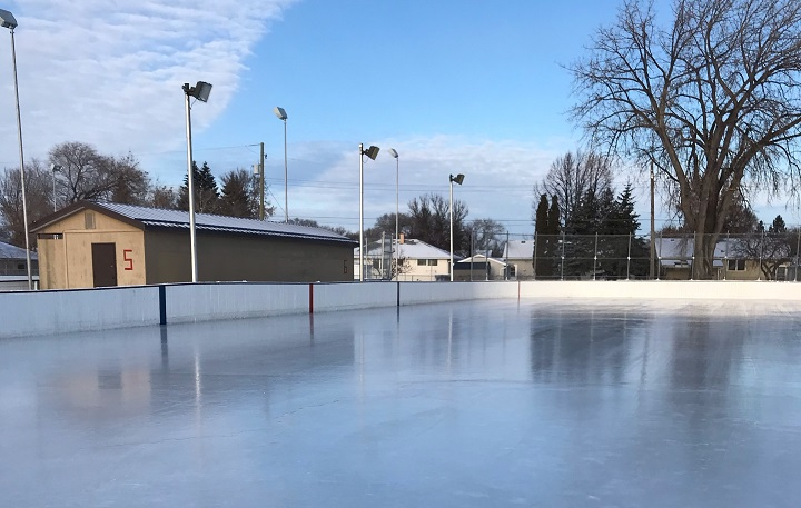 Outdoor rinks open for the skating season